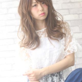 ゆるふわ 大人女子 アンニュイ かわいい ヘアスタイルや髪型の写真・画像
