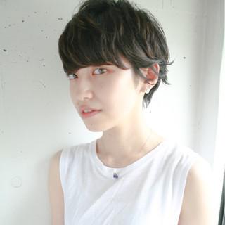 ワイドバング 前髪あり 透明感 黒髪 ヘアスタイルや髪型の写真・画像 ヘアスタイルや髪型の写真・画像