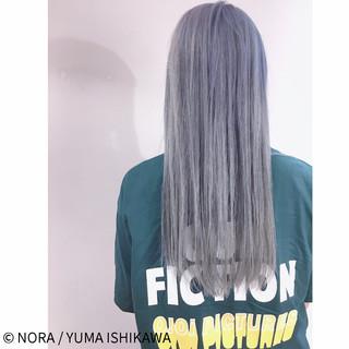 外国人風カラー グレージュ ブルージュ ストリート ヘアスタイルや髪型の写真・画像 ヘアスタイルや髪型の写真・画像