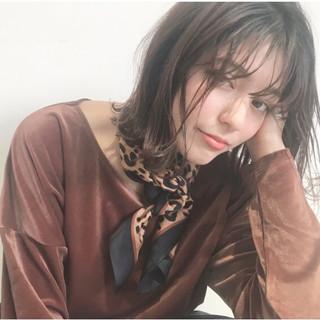 シナモンベージュ ハニーベージュ ナチュラル コテアレンジ ヘアスタイルや髪型の写真・画像