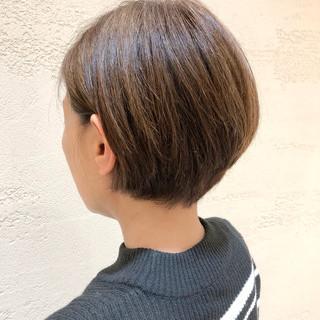 ショートヘア 黒髪 大人かわいい 大人ショート ヘアスタイルや髪型の写真・画像