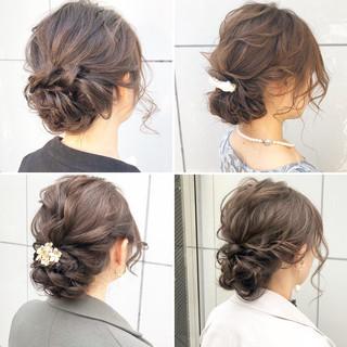 ヘアアレンジ 簡単ヘアアレンジ ナチュラル 結婚式 ヘアスタイルや髪型の写真・画像 ヘアスタイルや髪型の写真・画像