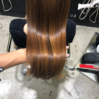 ヘアケア ホームケア 艶髪 ロング ヘアスタイルや髪型の写真・画像 ヘアスタイルや髪型の写真・画像