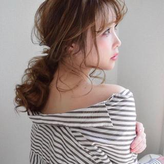 成人式 デート 簡単ヘアアレンジ オフィス ヘアスタイルや髪型の写真・画像