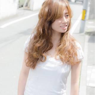 ナチュラル ストリート 愛され 春 ヘアスタイルや髪型の写真・画像