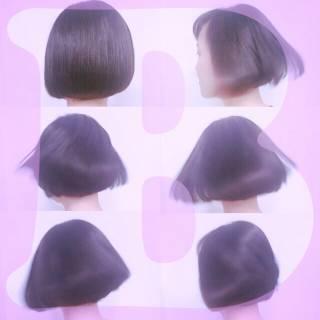 ストリート センターパート モード 暗髪 ヘアスタイルや髪型の写真・画像
