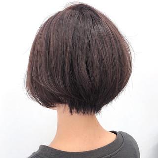 ショートボブ ハンサム ミニボブ ハンサムショート ヘアスタイルや髪型の写真・画像