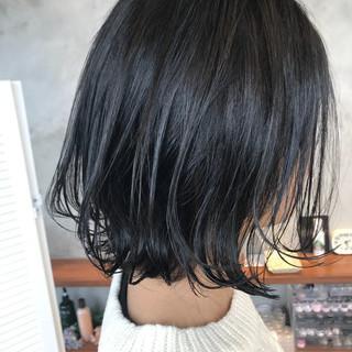 ボブ フェミニン アンニュイ ゆるふわ ヘアスタイルや髪型の写真・画像