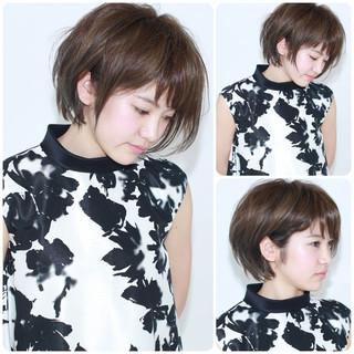 アッシュ モード 外国人風 イルミナカラー ヘアスタイルや髪型の写真・画像
