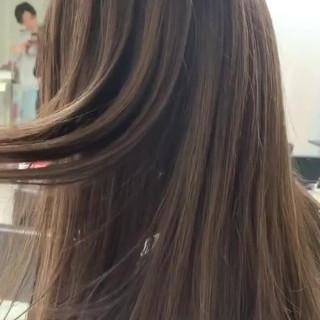 簡単スタイリング インナーカラー 3Dハイライト ナチュラル ヘアスタイルや髪型の写真・画像