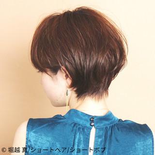 ショートボブ ショートヘア 大人可愛い ショート ヘアスタイルや髪型の写真・画像