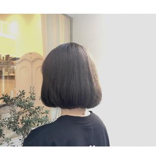 色気 アッシュ ナチュラル 暗髪 ヘアスタイルや髪型の写真・画像