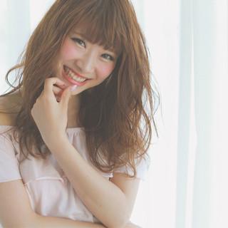 セミロング ヘアアレンジ 大人女子 大人かわいい ヘアスタイルや髪型の写真・画像