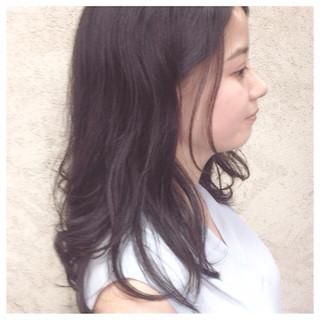 大人女子 ナチュラル 暗髪 抜け感 ヘアスタイルや髪型の写真・画像