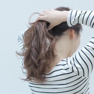 ラベンダー ハイライト ラベンダーアッシュ ヘアアレンジ ヘアスタイルや髪型の写真・画像