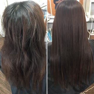 フォルムコントロールプレックス髪質改善 髪質改善 ナチュラル 髪質改善トリートメント ヘアスタイルや髪型の写真・画像