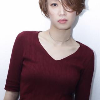 ショート 上品 エレガント デート ヘアスタイルや髪型の写真・画像 ヘアスタイルや髪型の写真・画像