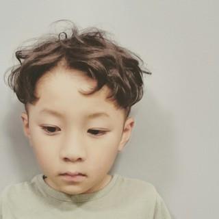 坊主 ゆるふわ 子供 かわいい ヘアスタイルや髪型の写真・画像