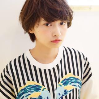 大人かわいい ガーリー 似合わせ ショート ヘアスタイルや髪型の写真・画像