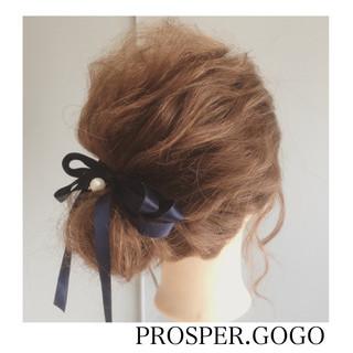 ミディアム 大人女子 簡単ヘアアレンジ ショート ヘアスタイルや髪型の写真・画像