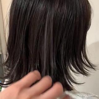 ウルフカット ショートボブ ナチュラル 外ハネ ヘアスタイルや髪型の写真・画像