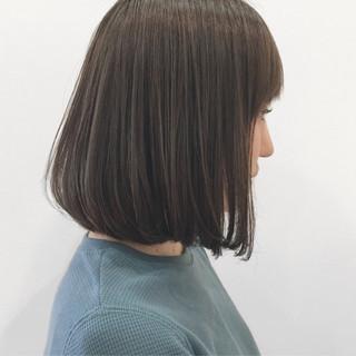 アッシュ 大人かわいい カーキアッシュ 透明感 ヘアスタイルや髪型の写真・画像