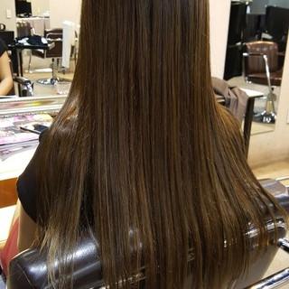 艶髪 ナチュラル 外国人風カラー ダブルカラー ヘアスタイルや髪型の写真・画像