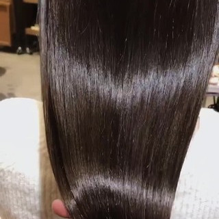 oggiotto ツヤ髪 透明感カラー 最新トリートメント ヘアスタイルや髪型の写真・画像