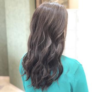 外国人風カラー 透明感 ヘアアレンジ エレガント ヘアスタイルや髪型の写真・画像