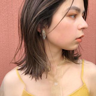 ナチュラル ストレート ガーリー 透明感 ヘアスタイルや髪型の写真・画像