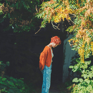 インナーカラー ベリーショート ウルフカット ショートヘア ヘアスタイルや髪型の写真・画像