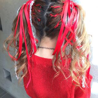 ヘアアレンジ 結婚式 成人式 簡単ヘアアレンジ ヘアスタイルや髪型の写真・画像