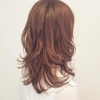 イルミナカラー フェミニン 透明感 秋 ヘアスタイルや髪型の写真・画像