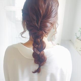 セミロング アッシュ ミルクティー デート ヘアスタイルや髪型の写真・画像