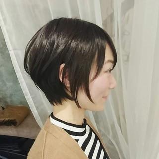 オフィス 冬 外ハネ ゆるふわ ヘアスタイルや髪型の写真・画像