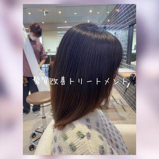 ナチュラル トリートメント モテ髪 髪質改善 ヘアスタイルや髪型の写真・画像