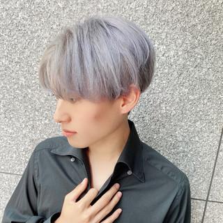 メンズ メンズカット ショート 韓国ヘア ヘアスタイルや髪型の写真・画像