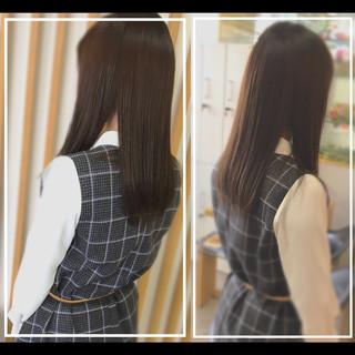 ツヤ髪 社会人の味方 社会人 ロング ヘアスタイルや髪型の写真・画像