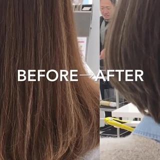 前髪が得意です。横森 祐樹さんのヘアスナップ