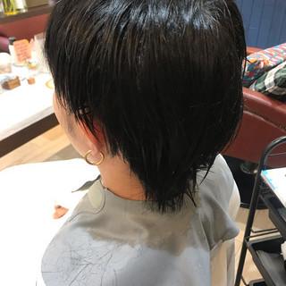 ショート メンズヘア ストリート ツーブロック ヘアスタイルや髪型の写真・画像   鳥井舞子 / Lilou by Frames 川口店
