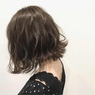 透明感 秋 ボブ 外国人風カラー ヘアスタイルや髪型の写真・画像