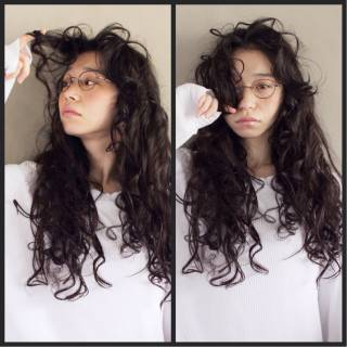 ロング 束感 ナチュラル 大人かわいい ヘアスタイルや髪型の写真・画像