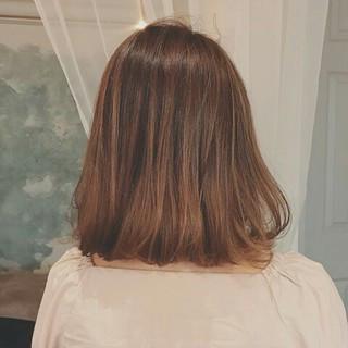 ナチュラル グラデーションカラー 透明感 秋 ヘアスタイルや髪型の写真・画像