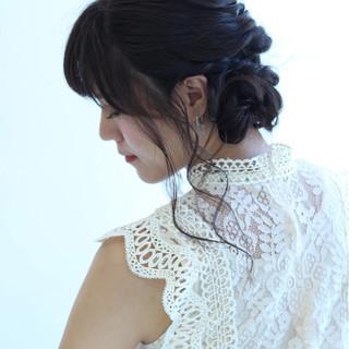 秋 上品 涼しげ エレガント ヘアスタイルや髪型の写真・画像