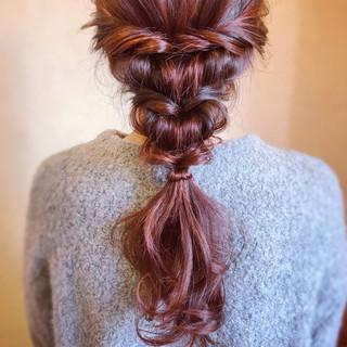 編みおろし 大人カジュアル フェミニン アンニュイほつれヘア ヘアスタイルや髪型の写真・画像 ヘアスタイルや髪型の写真・画像