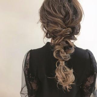 成人式 結婚式 パーティ アンニュイほつれヘア ヘアスタイルや髪型の写真・画像