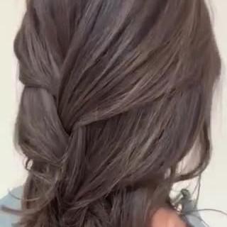 大人ハイライト ハイライト ミディアム コントラストハイライト ヘアスタイルや髪型の写真・画像