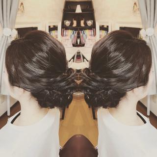 上品 大人かわいい エレガント ヘアアレンジ ヘアスタイルや髪型の写真・画像 ヘアスタイルや髪型の写真・画像