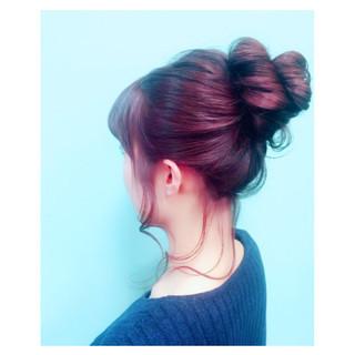 ヘアアレンジ 簡単ヘアアレンジ ロング ショート ヘアスタイルや髪型の写真・画像 ヘアスタイルや髪型の写真・画像