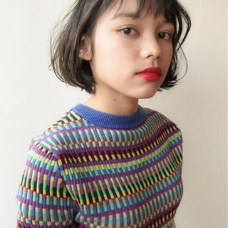 かわいい 秋 小顔 ナチュラル ヘアスタイルや髪型の写真・画像